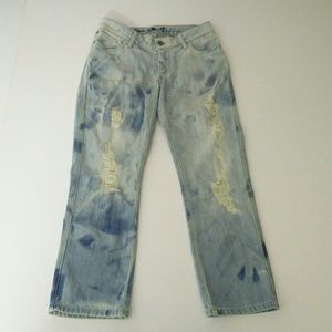 Alice and Olivia Jeans Mottled Size 2